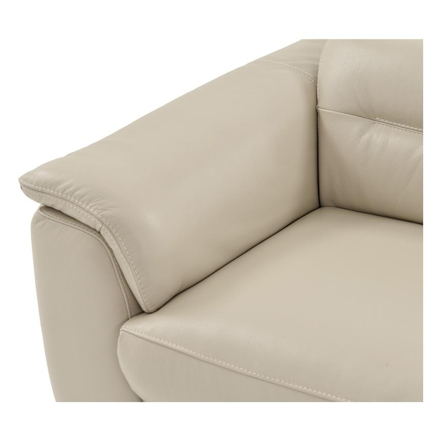 Anabel Cream Home Theater Leather Seating  alternate image, 4 of 9 images.