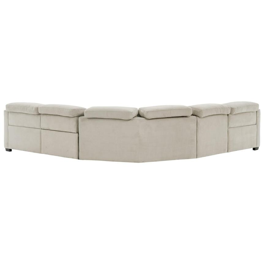 Jameson White Power Reclining Sectional  alternate image, 3 of 9 images.