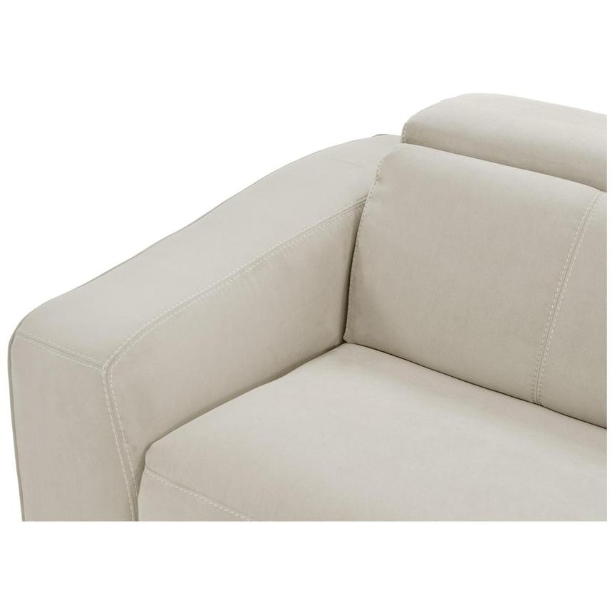 Jameson White Power Motion Sofa w/Right & Left Recliners  alternate image, 4 of 9 images.