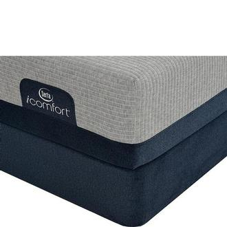 iComfort Blue Max 1000 Plush Queen Mattress w/Regular Foundation by Serta