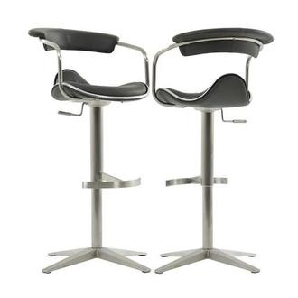 Primo Gray Adjustable Stool