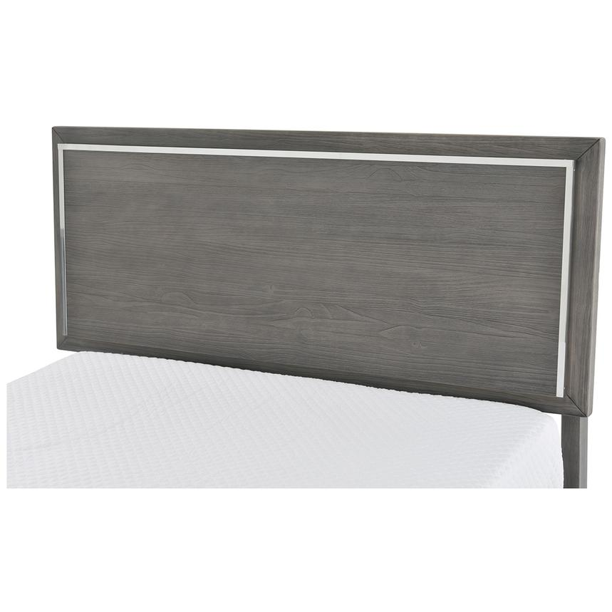 Venezia Gray Queen Platform Bed Made in Brazil  alternate image, 4 of 5 images.
