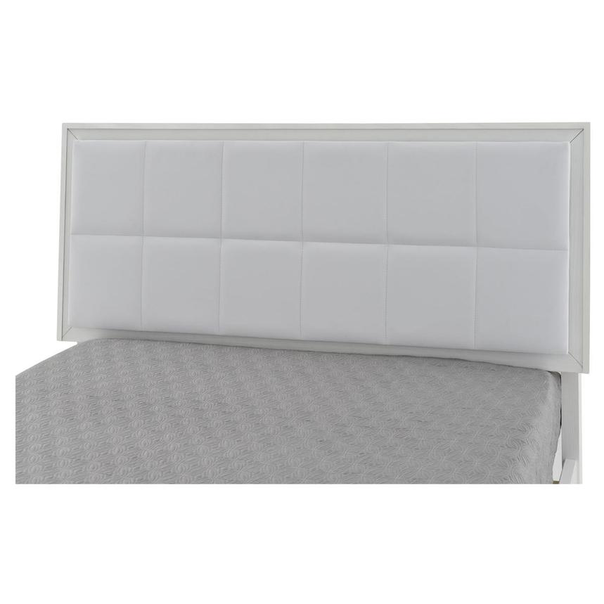 Venezia White Full Platform Bed Made in Brazil  alternate image, 4 of 5 images.