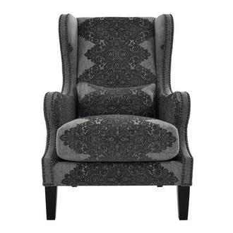 Sophia Gray Accent Chair