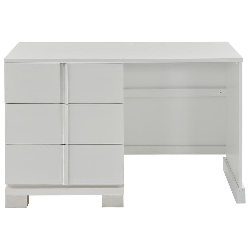 Venezia White Vanity Desk Made in Brazil  alternate image, 3 of 7 images.