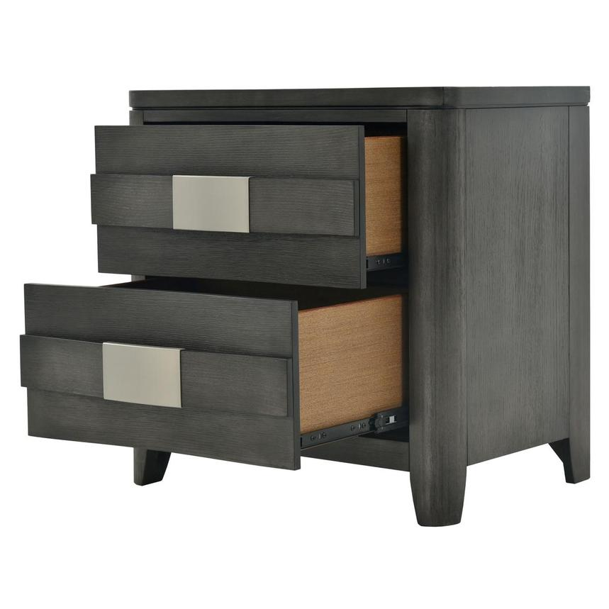 Contour Gray Nightstand  alternate image, 4 of 9 images.