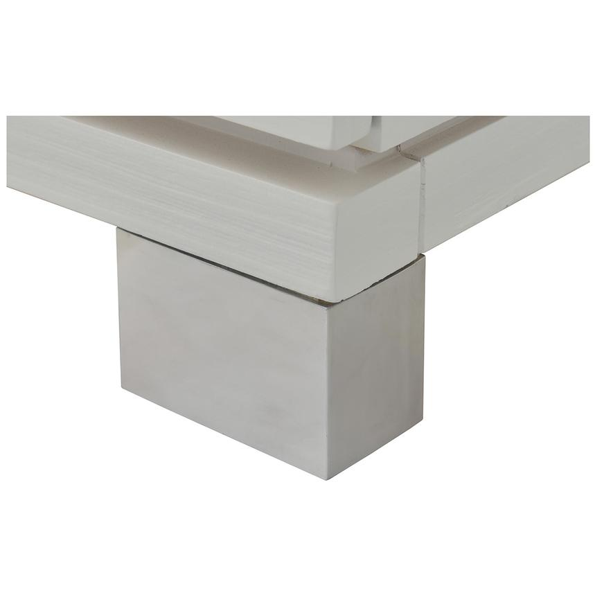 Venezia White Nightstand Made in Brazil  alternate image, 8 of 8 images.