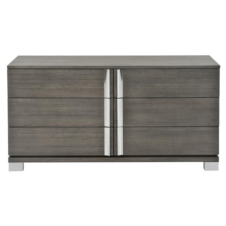 Venezia Gray Small Dresser Made in Brazil  alternate image, 4 of 7 images.