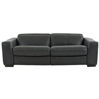 Jay Dark Gray Power Motion Leather Sofa