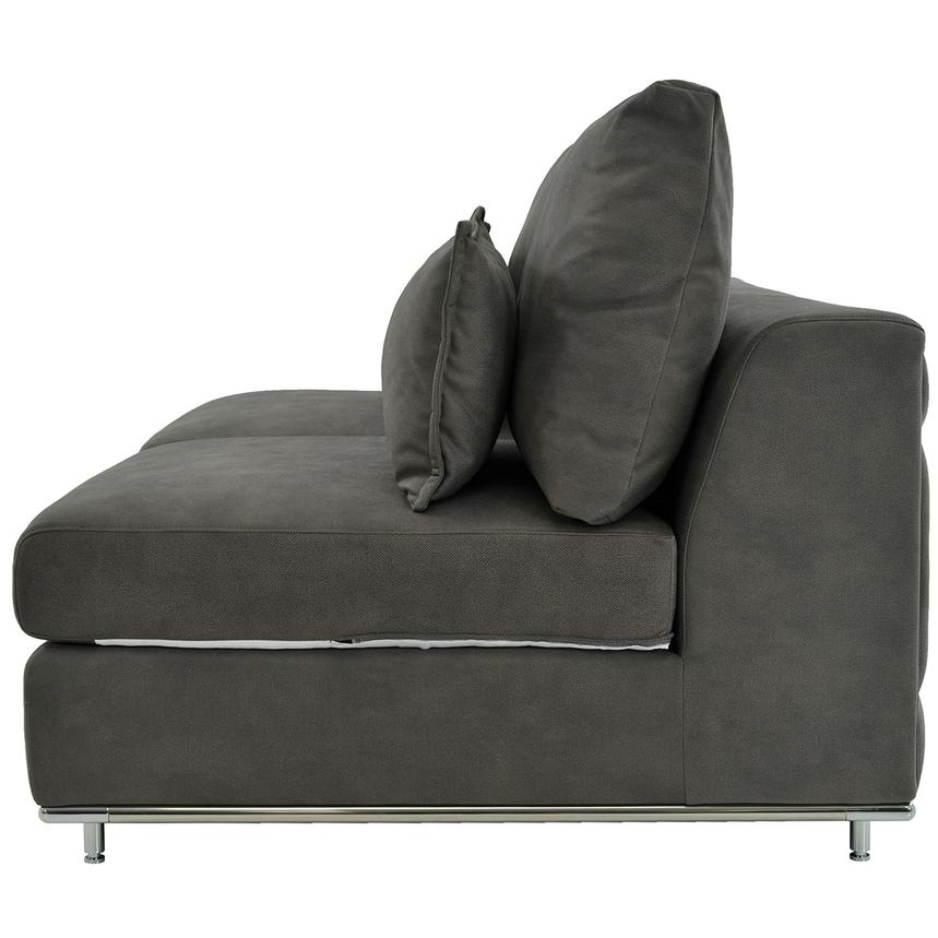 Grigio Armless Loveseat  alternate image, 3 of 5 images.