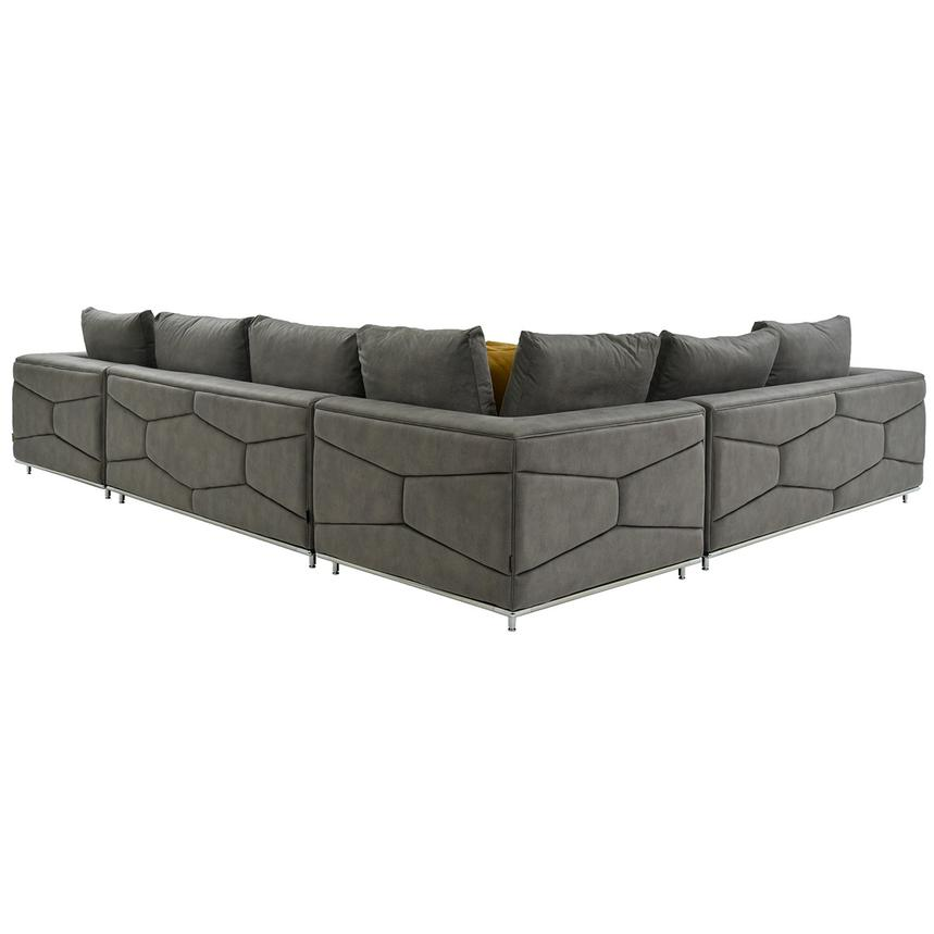 Grigio Sectional Sofa w/Right Chaise  alternate image, 3 of 5 images.