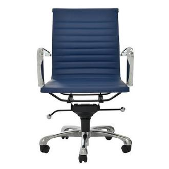 Watson Blue Low Back Desk Chair