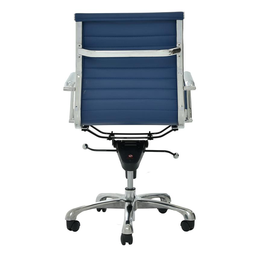Watson Blue Low Back Desk Chair  alternate image, 4 of 6 images.