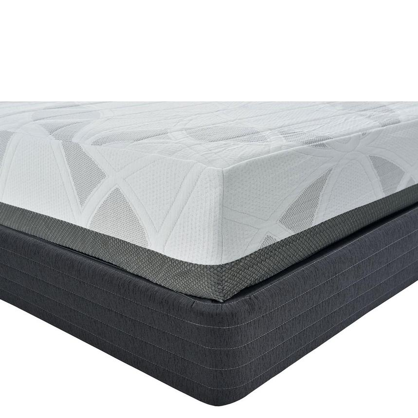 Etna King Memory Foam Mattress w/Low Foundation by Carlo Perazzi  main image, 1 of 4 images.