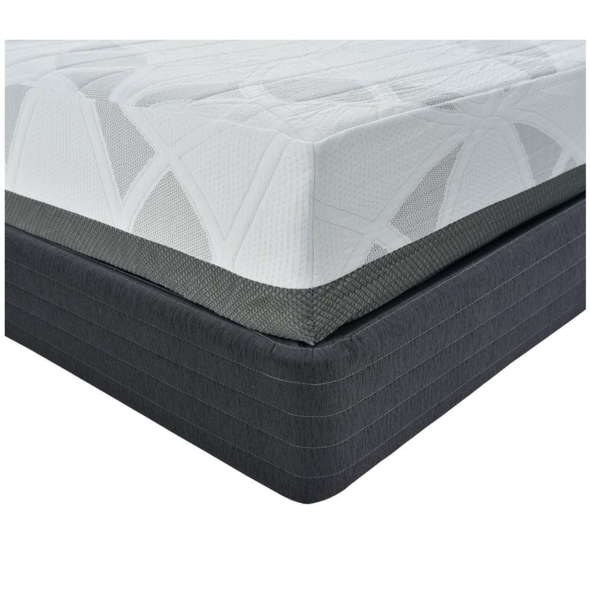 Etna King Memory Foam Mattress w/Regular Foundation by Carlo Perazzi  alternate image, 3 of 4 images.