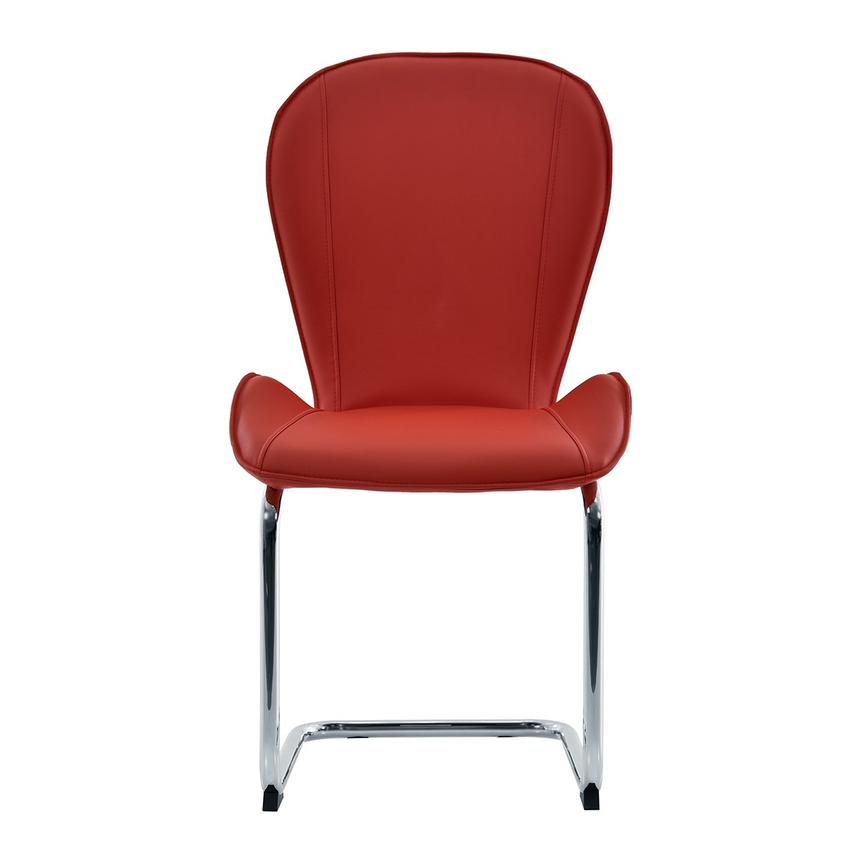 Latika Red Side Chair  main image, 1 of 6 images.