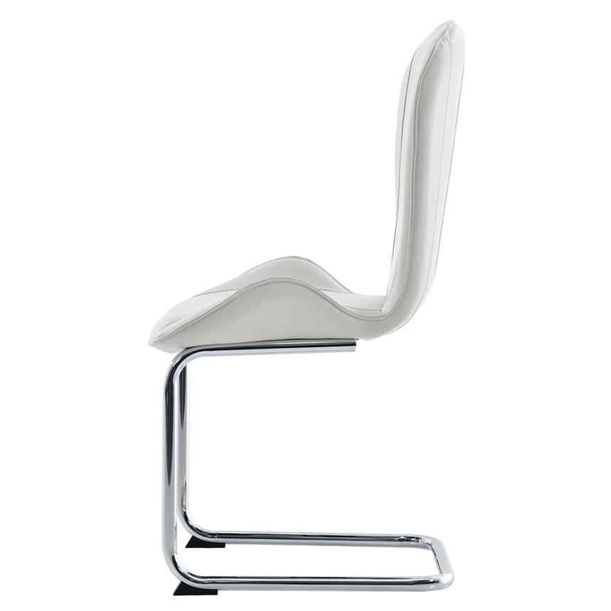 Latika White Side Chair  alternate image, 3 of 7 images.