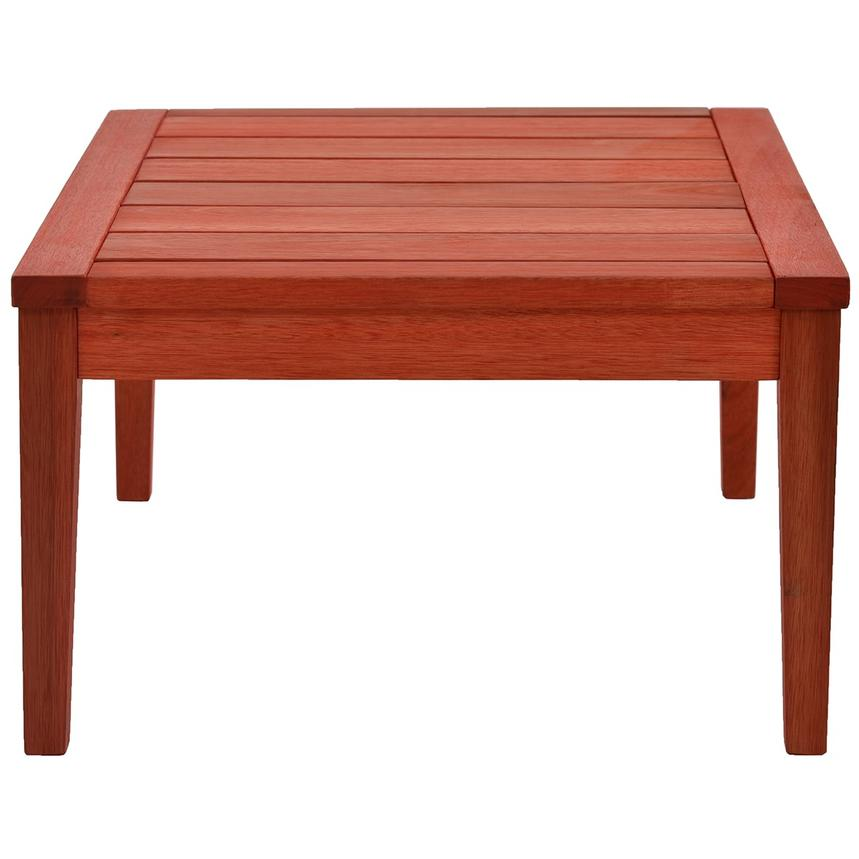 Nassau Red Coffee Table Made in Brazil  alternate image, 4 of 6 images.