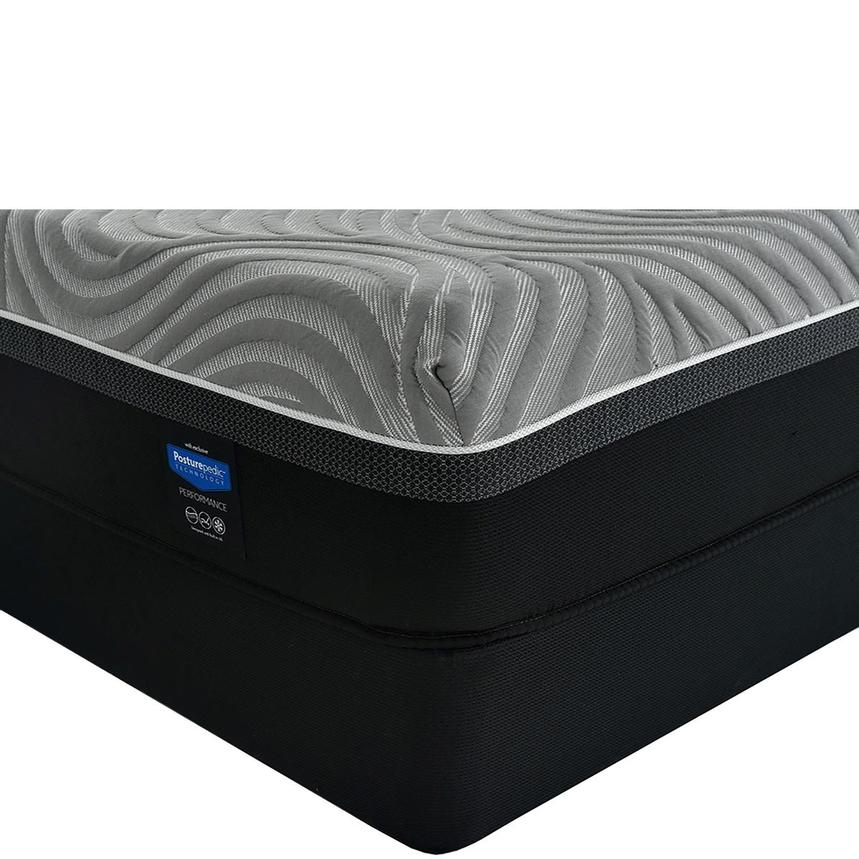 Copper II Twin XL Mattress w/Regular Foundation by Sealy Posturepedic Hybrid  main image, 1 of 6 images.
