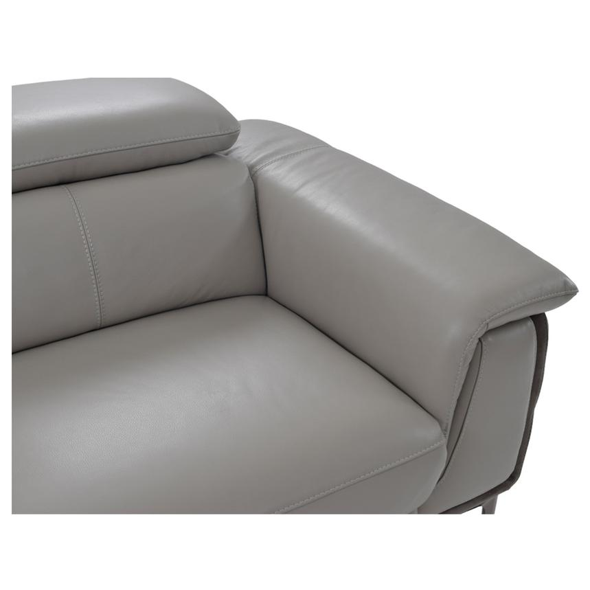 Richardson Power Motion Leather Sofa w/Left Chaise  alternate image, 4 of 8 images.