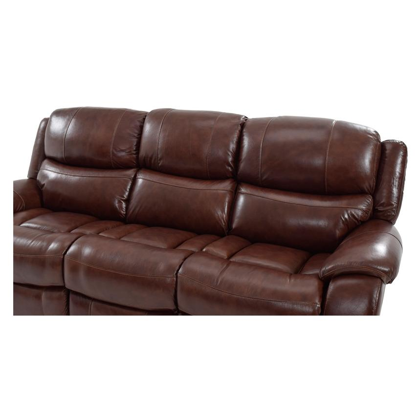 Abilene Recliner Leather Sofa  alternate image, 4 of 6 images.