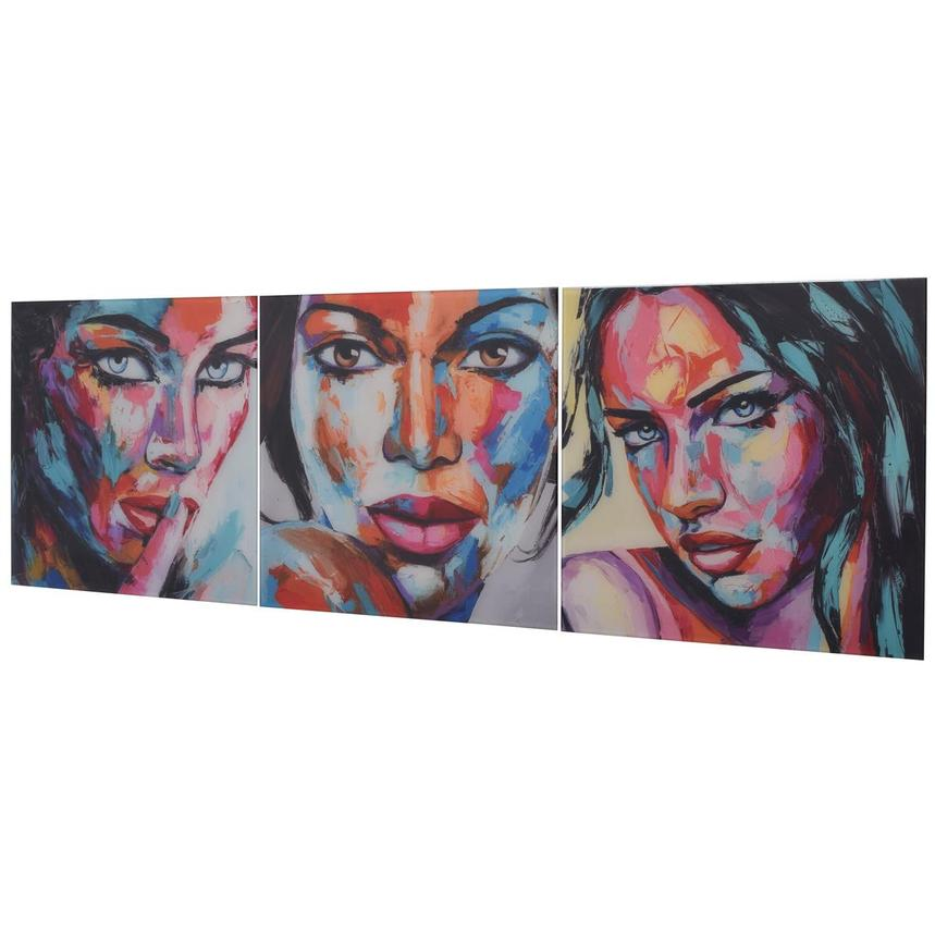Beaute Set of 3 Acrylic Wall Art  alternate image, 3 of 5 images.