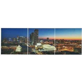Luminous Set of 3 Acrylic Wall Art