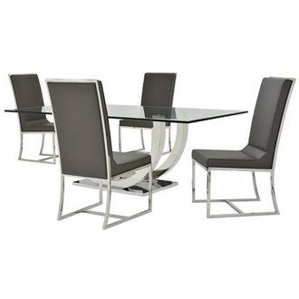 Ulysis/Sofitel Gray 5-Piece Formal Dining Set