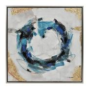 Cercle Bleu Canvas Wall Art  main image, 1 of 3 images.