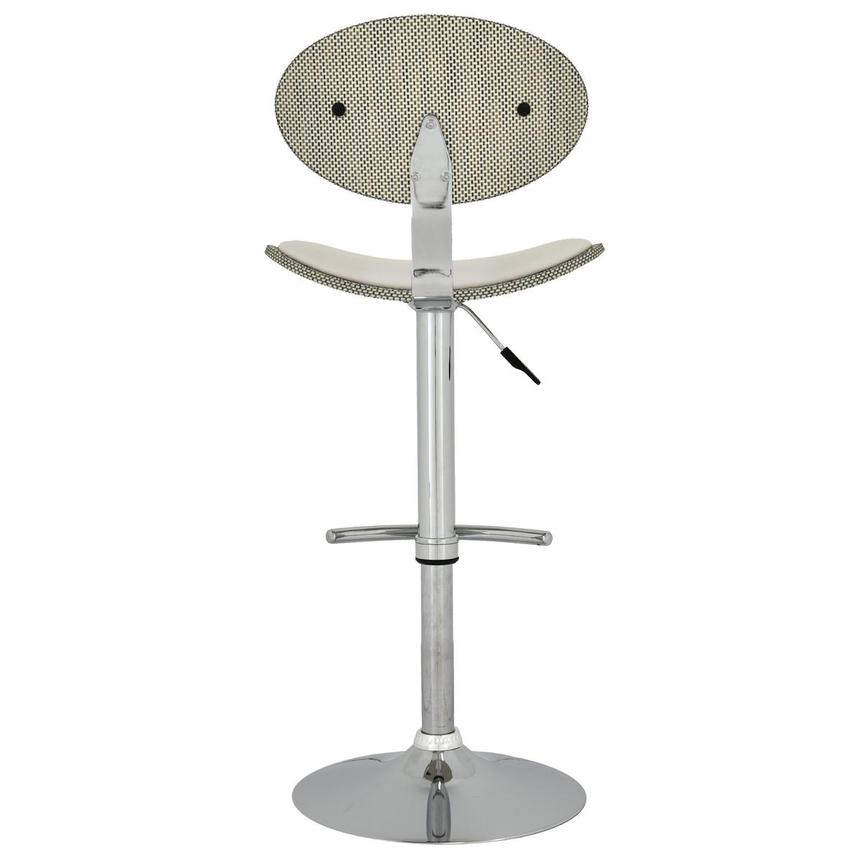 Noe White Adjustable Stool  alternate image, 4 of 5 images.