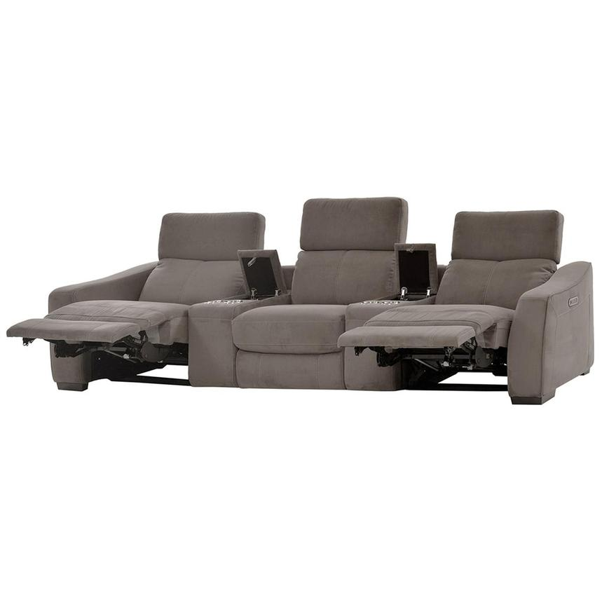 Jameson Dark Gray Home Theater Seating El Dorado Furniture