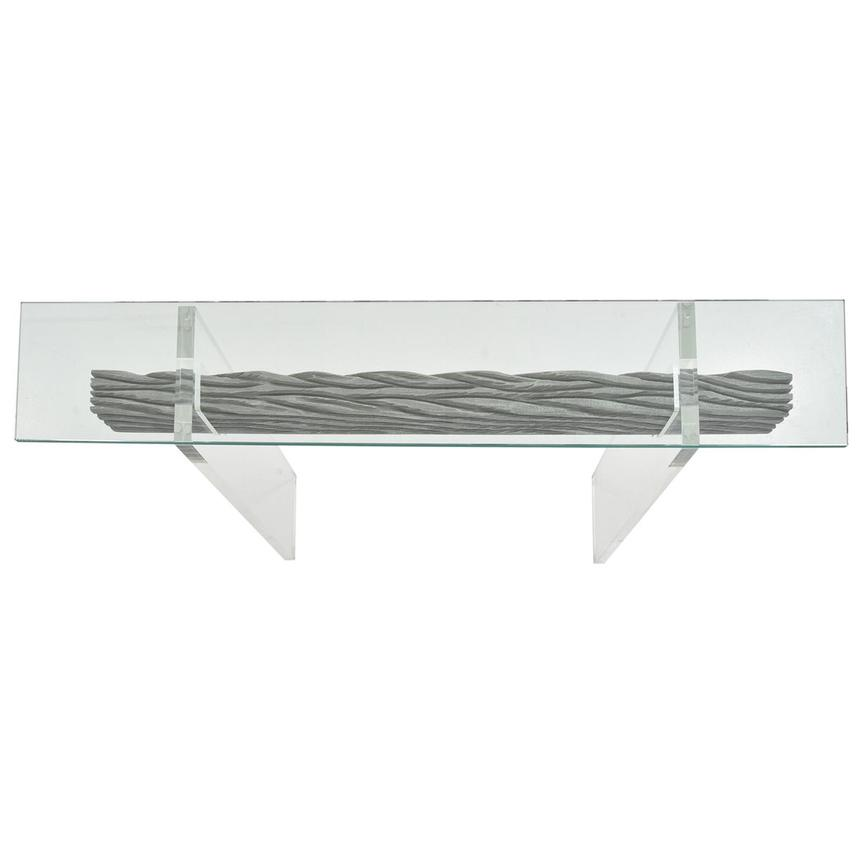 Miami Beach Gray Console Table  alternate image, 4 of 6 images.
