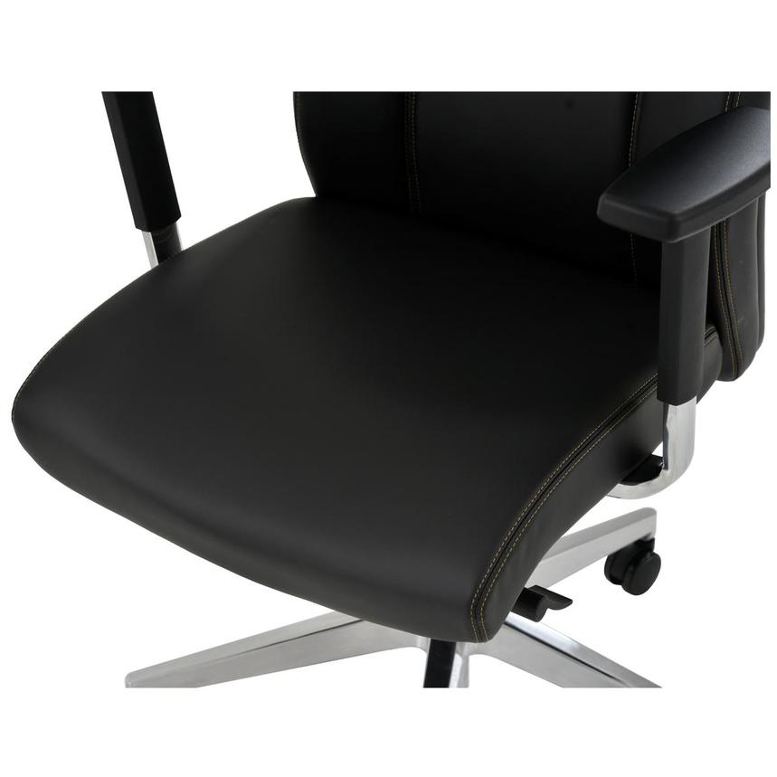 Regulo Black High Back Desk Chair  alternate image, 7 of 8 images.