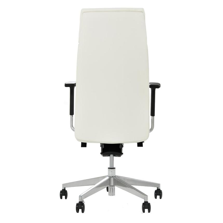 Regulo White High Back Desk Chair  alternate image, 4 of 7 images.