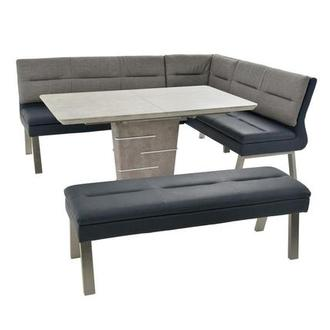 Jezebel 3-Piece Left/Right Corner Nook Dining Set