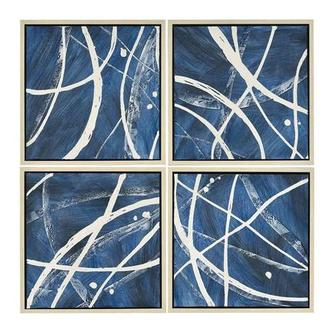 Quatre Canvas Wall Art Set of 4