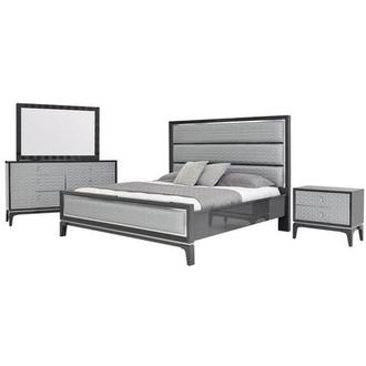 Chelsea Gray 4-Piece Queen Bedroom Set