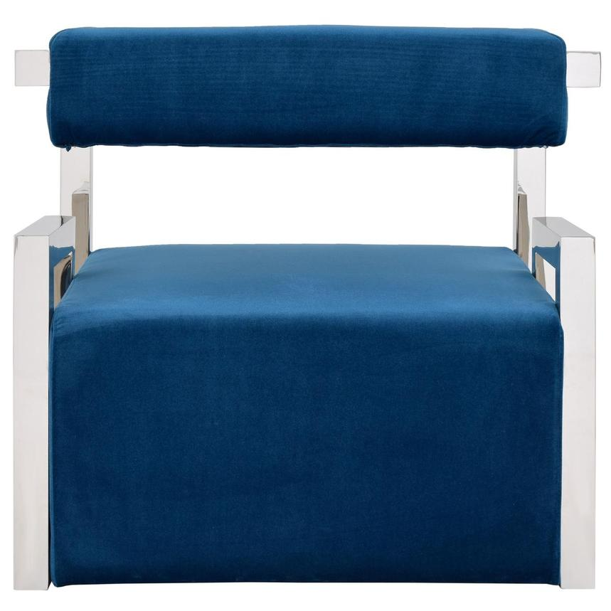 Versana Blue Accent Chair  alternate image, 4 of 5 images.