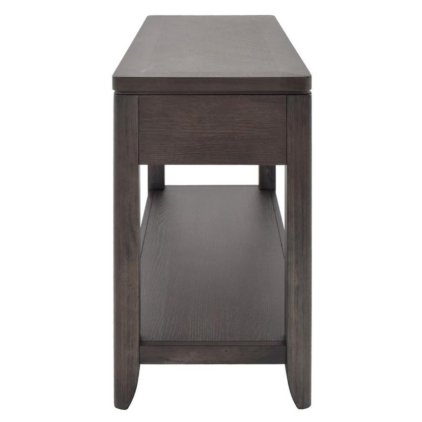 Contour Gray Console Table  alternate image, 4 of 8 images.