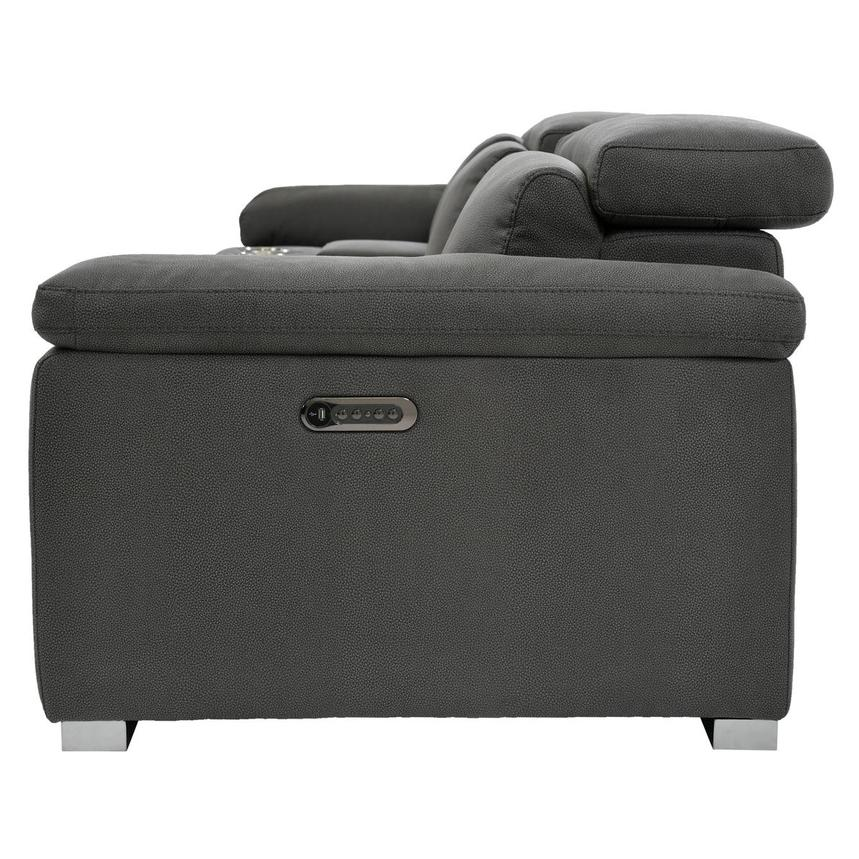 Karly Dark Gray Home Theater Seating  alternate image, 4 of 9 images.
