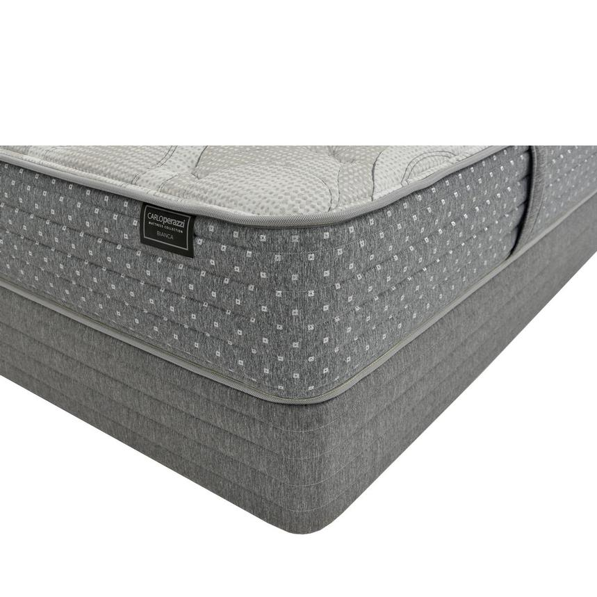 Bianca King Mattress w/Low Foundation by Carlo Perazzi  main image, 1 of 4 images.