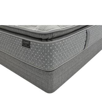 Genoa Queen Mattress w/Regular Foundation by Carlo Perazzi