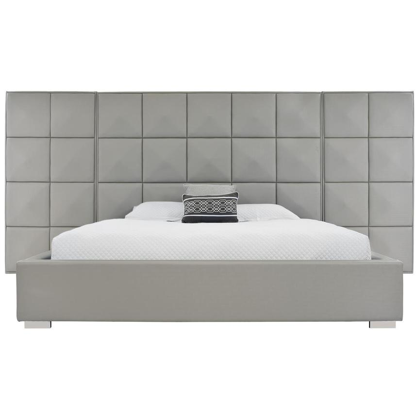 Lux Suite Gray King Platform Bed  alternate image, 2 of 6 images.