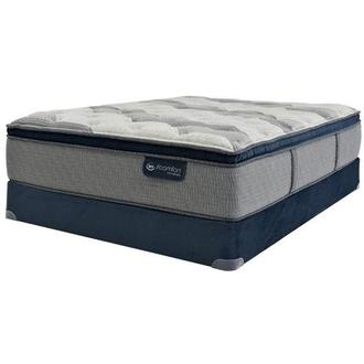 Fusion 300 PT Full Mattress w/Low Foundation by Serta