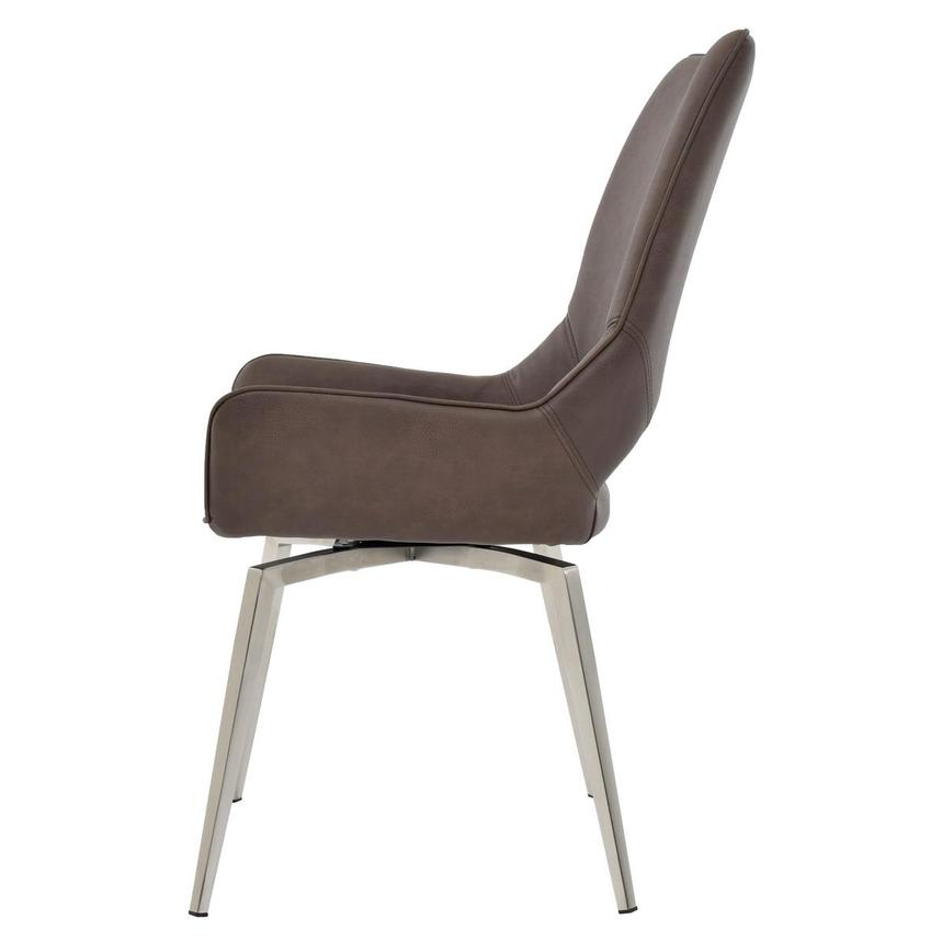 Kalia Brown Side Chair  alternate image, 3 of 7 images.