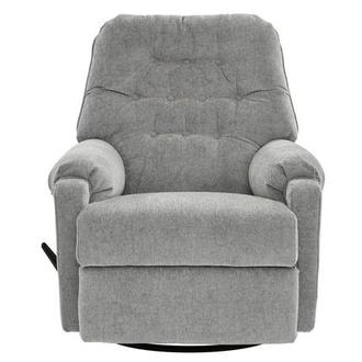 Sondra Gray Swivel Rocker Recliner