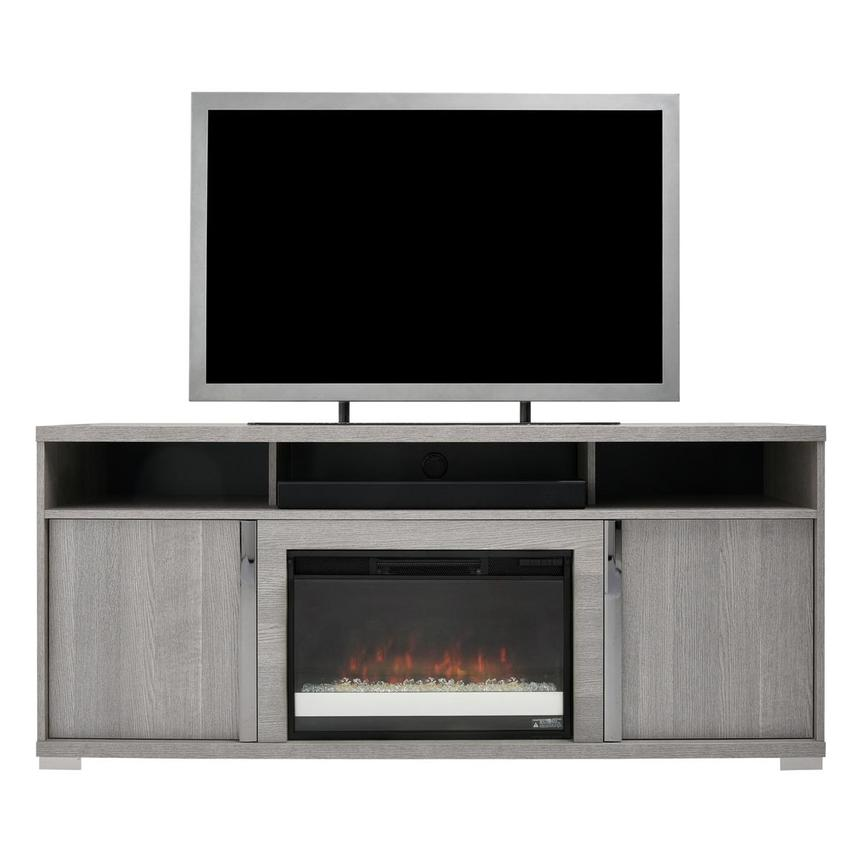 Tivo Gray Electric Fireplace w/Speakers  main image, 1 of 8 images.