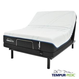 ProAdapt Soft Queen Mattress w/Ergo® Powered Base by Tempur-Pedic