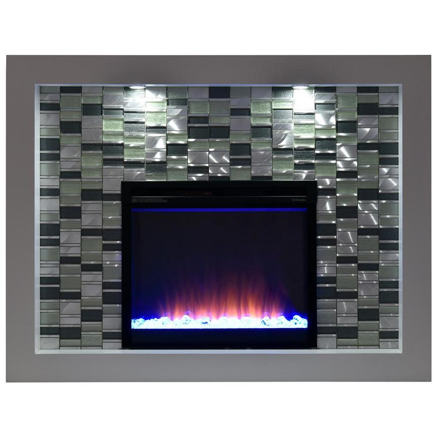 Crystal Faux Fireplace w/Remote Control  alternate image, 3 of 7 images.