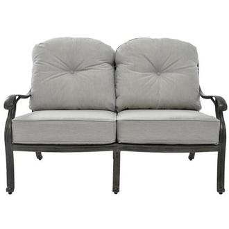 Castle Rock Gray Loveseat
